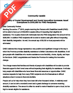PDF Document: DABC - Province increases assets limits for PWD recipients