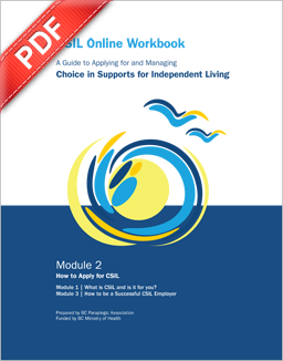 PDF Document: Module 2 - How to apply for CSIL